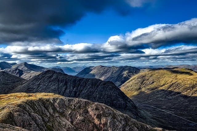 places to go in Scotland in January