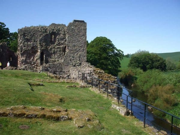 Hailes Castle - from the river