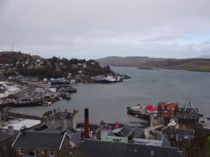 McCaig's Tower - view of Oban