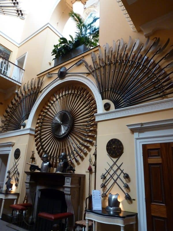 Inverary Castle Weapons Room