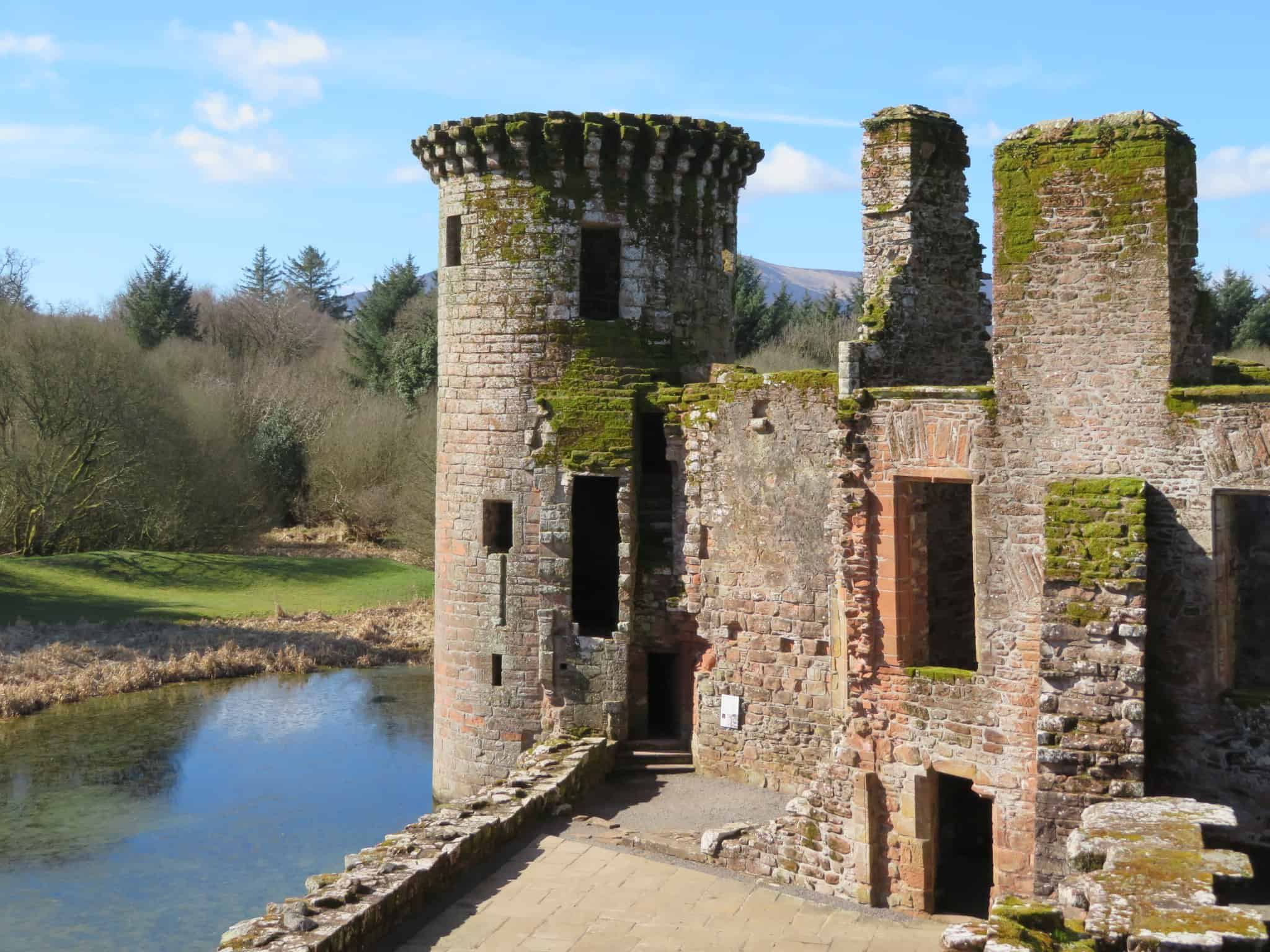 Caerlaverock Castle defensive tower