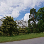 Blair Castle from the roadside