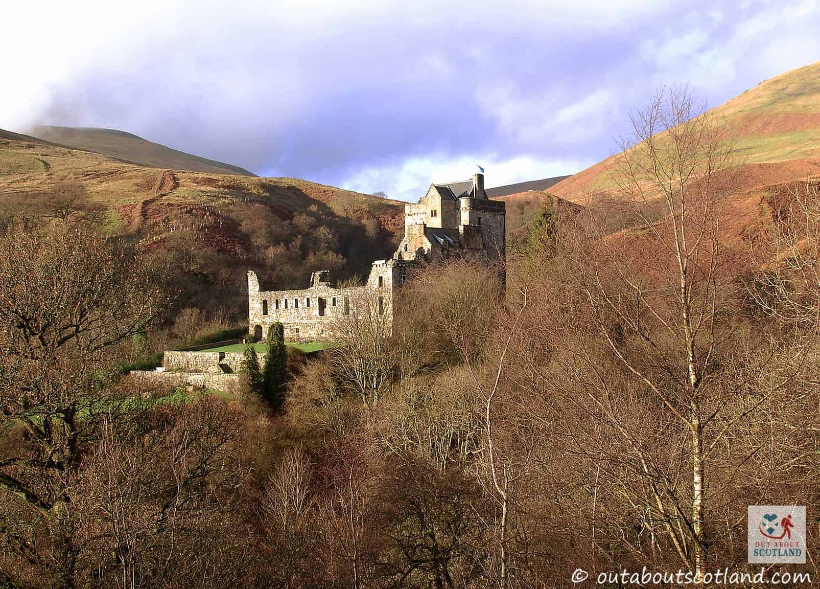 Castle Campbell and Dollar Glen