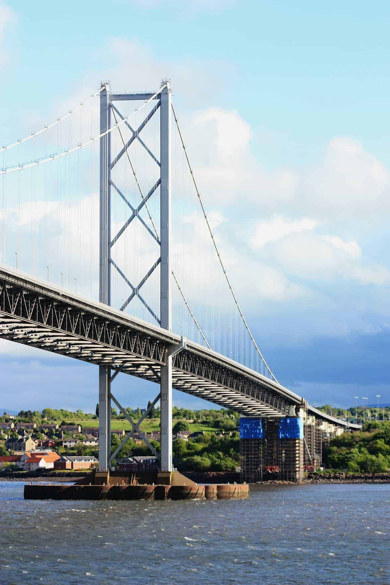 Forth Bridge During Construction