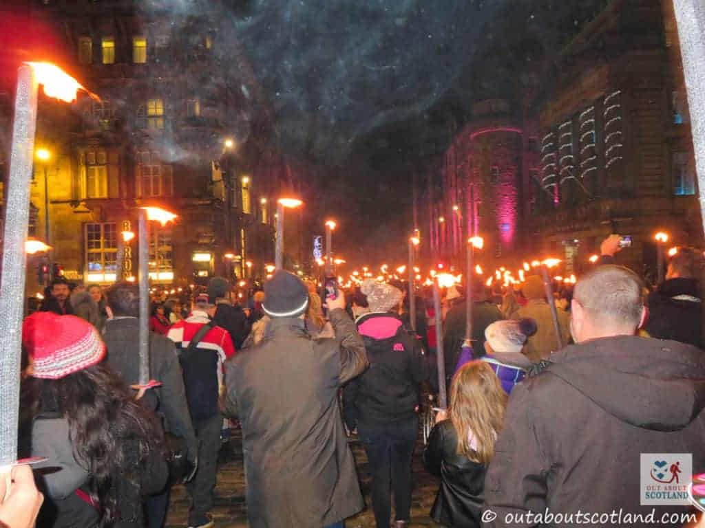 Edinburgh's Hogmanay Torchlight Procession (5 of 13)