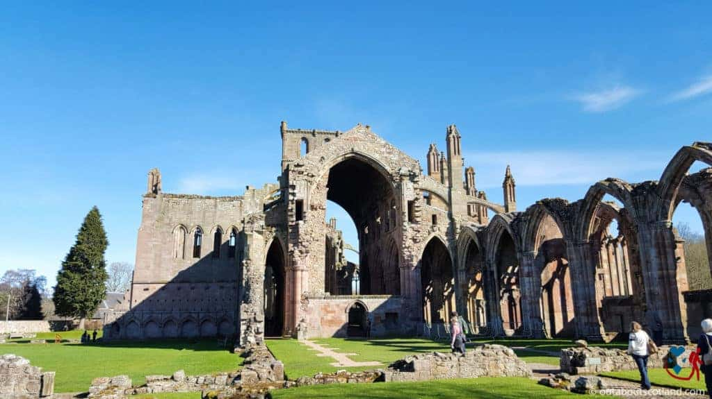 Melrose Abbey (1 of 9)