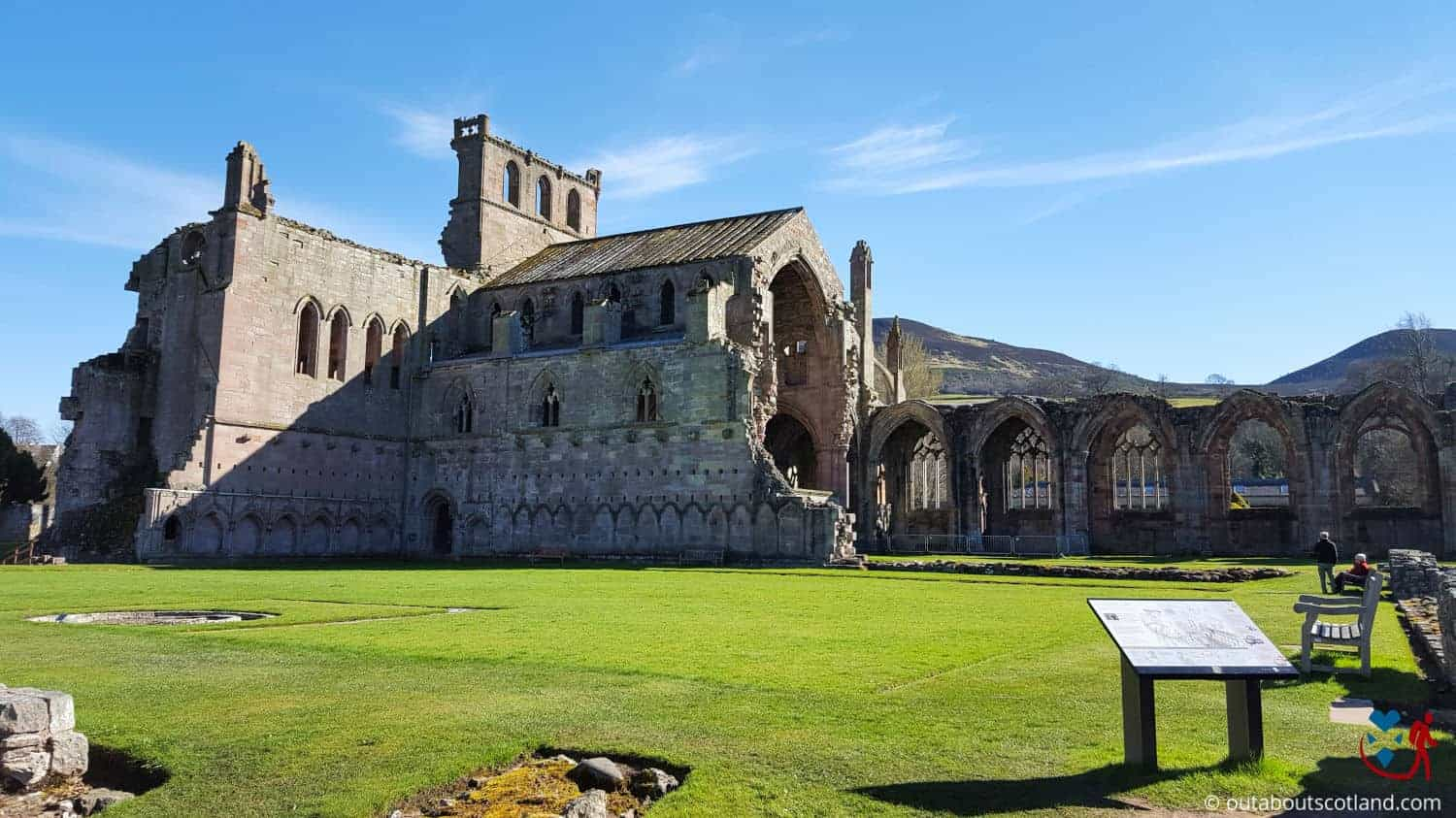 Melrose Abbey (2 of 9)