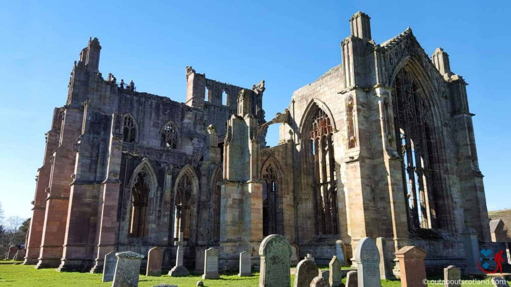 Melrose Abbey (3 of 9)