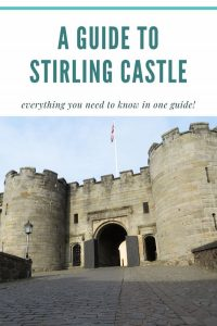 a guide to stirling castle Pinterest