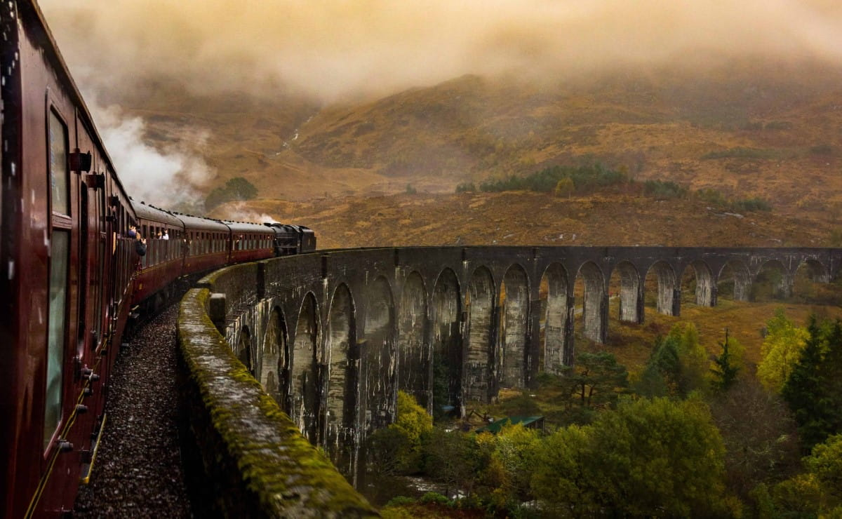 Glenfinnan Jacobite Train Carriages