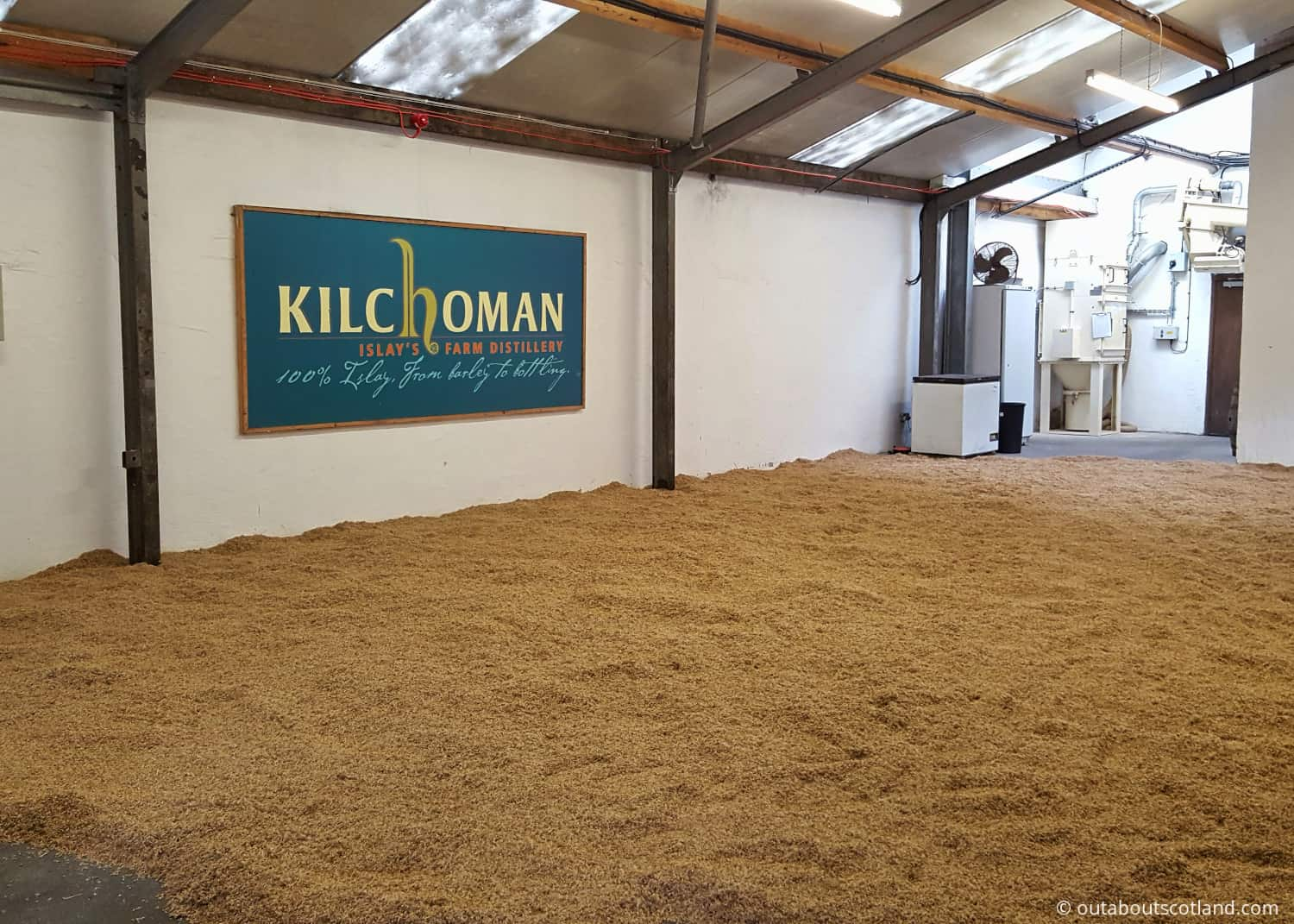 kilchoman malting room islay