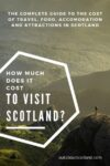 cost to visit scotland