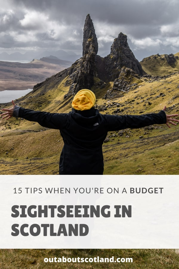 Scotland sightseeing on a budget Pinterest
